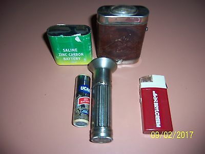 3 old collectible torches