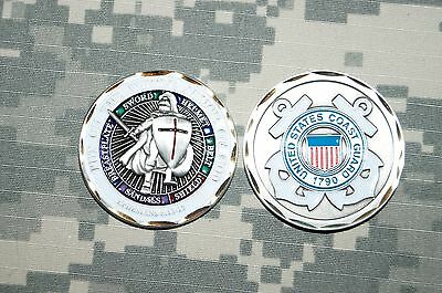 Challenge Coin NEW US Coast Guard 1790 Put on the Whole Armor of God
