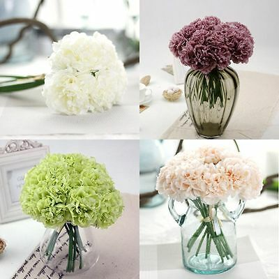 Artificial Silk Peony Flowers Home Garden Wedding Party Bridal Bouquet Decor