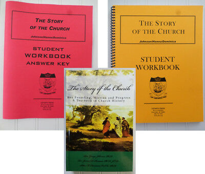 The Story of the Church Johnson ~ Text, Workbook, or Answer Key History OLVS