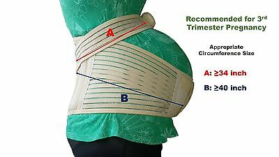 TOP GLORY Maternity Belt for Pregnancy Plus Size Belly Band & Back Support Girdl