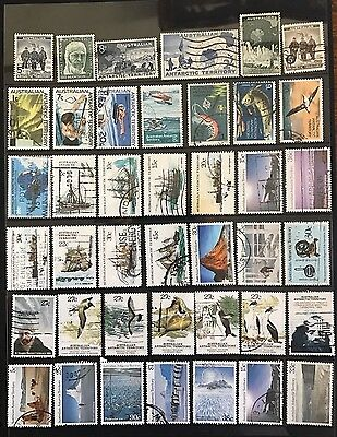 Australian Antarctic Stamps  41 used some High Value
