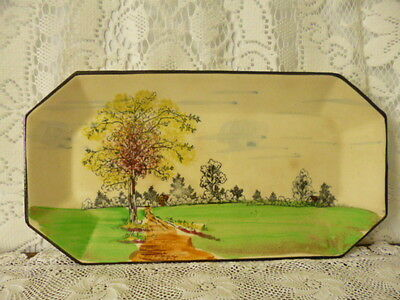 Antique vintage early 1900 Japan Japanese porcelain china pottery plate tray