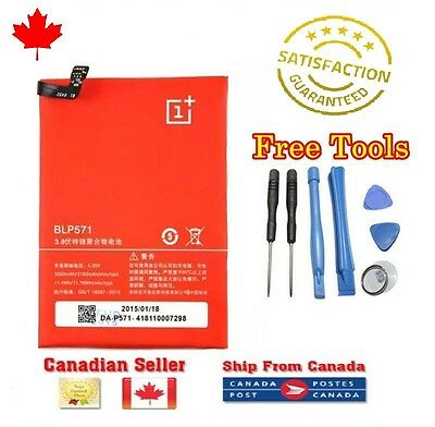 New Original OEM OnePlus One Internal Replacement Battery BLP571 3100mAh + Tools