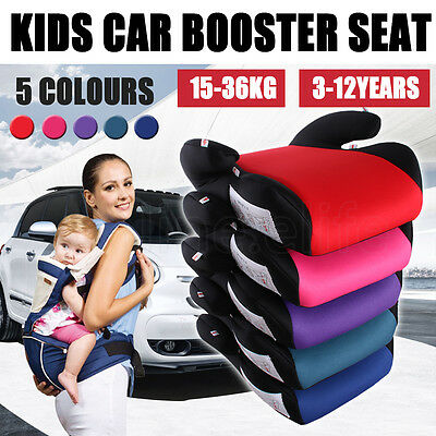 New Car Booster Seat Safe Safety Sturdy Kid Baby Child Children for 3 -12 Years