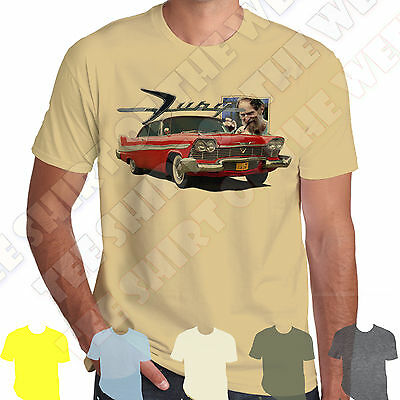 1958 Plymouth Fury Christine T-shirt 100% Cotton 7 colours to choose Hot Rod