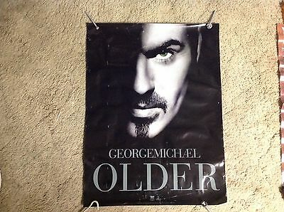 Rare! 24x18appx. GEORGE MICHAEL older records Promo poster CD. Wham. .