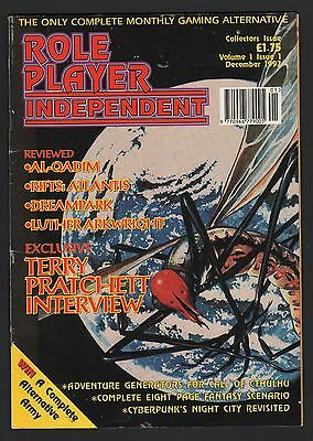 ROLE PLAYER INDEPENDENT MAGAZINE  Vol 1 ISSUE 1