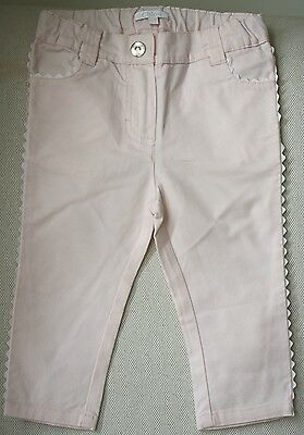 Chloe Baby Pink Scalloped Jeans 12 Months