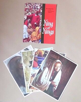 Vintage METRO-GOLDWYN- MAYER (MGM) King of Kings Brochure 1961 with 4 Pictures