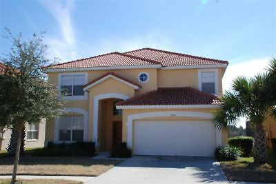 6 Bedroom Villa For Rent Orlando Florida Gated Complex Free Wi-Fi
