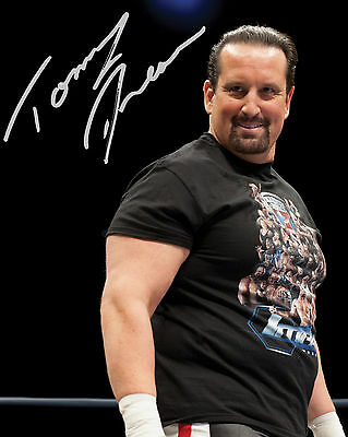 Tommy Dreamer #1 (Wwe) - 10X8 Pre Printed Lab Quality Photo (Signed) (Reprint)