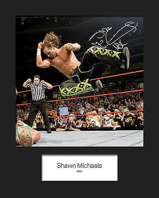 SHAWN MICHAELS #2 (WWE) Signed 10x8 Mounted Photo Print - FREE DELIVERY