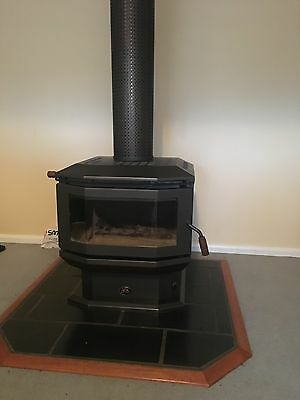 slow combustion wood heater