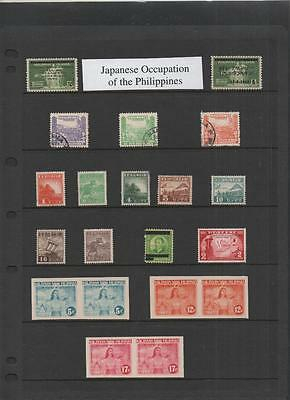 Japanese Occupation Of Philippines Lot On 3 Pages