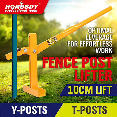 Fence Post LifterPuller Remover Star Picket Steel Pole Fencing Tool Energiser