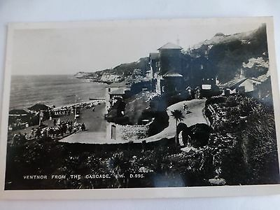 Ventnor from The Cascade  - Old Isle of Wight Postcard