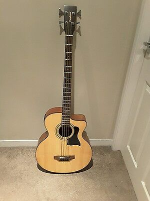 A Bass Tanglewood Tab2Ce Sto Electro Acoustic Bass Guitar And Stagg Case