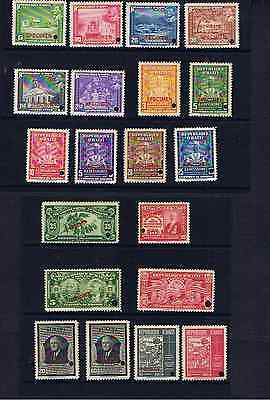 Haiti Collection Of  'specimen' Stamps