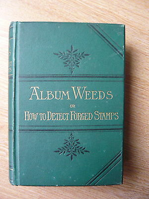 Literature: Album Weeds, Forged Stamps by Earee, Stanley Gibbons 1882.