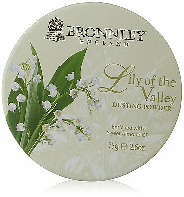 Bronnley Lily of The Valley Dusting Powder 75g  890836396190