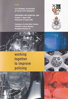 National Association of Police Fleet Managers Exhibition Programme from 2004