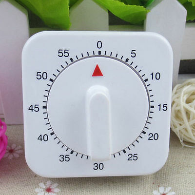 60 Minutes Kitchen Timer Cooking Ring Mechanical Counter WIND-UP Alarm Clock