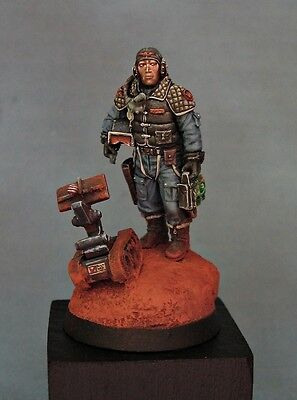 Forgeworld pro-painted Imperial Navy pilot Astra Militarum games day exclusive