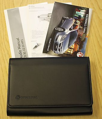 Genuine Vauxhall Corsa D Owners Manual Handbook Wallet Audio 2006-2010 Pack