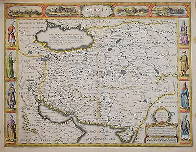The Kingdom Of Persia By John Speed, 1626.