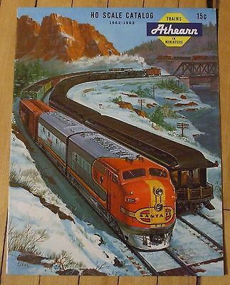 1963 Athearn HO Scale Catalog Color Trains Accessories 10 Page