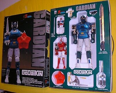 GORDIAN GARDIAN BANDAI ROBOT Dx METAL POPY made JAPAN exclusive'80 GODAIKIN BOX