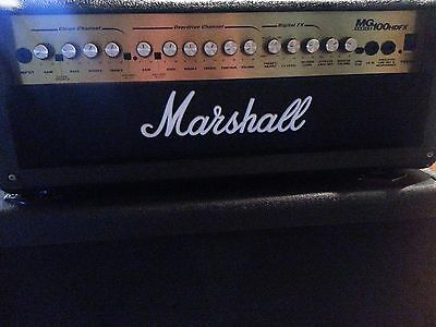 Marshall Mg100 Hdfx Guitar Half Stack,amplifier & 4 X12 Cab,lovely Condition