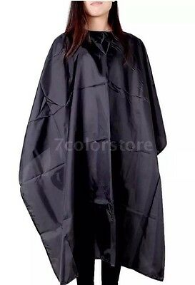 Waterproof Adult Salon Hair Cut Hairdressing Barbers Hairdresser Cape Gown Nylon