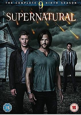 SUPERNATURAL Complete Series 9 DVD Ninth 9th Nine Season Original UK R2 Release