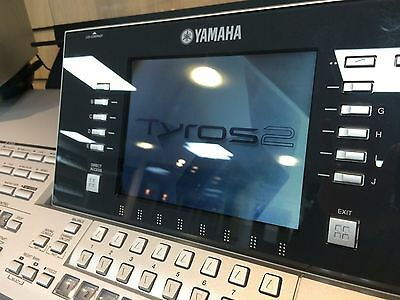 Preowned Yamaha Tyros 2 including MS02 speakers