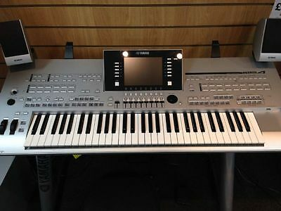 Preowned Yamaha Tyros 4 including MS04 speakers