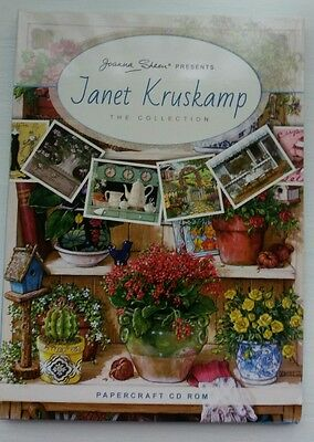 JOANNA SHEEN CD ROM - The Janet Kruskamp Collection   Paper Craft