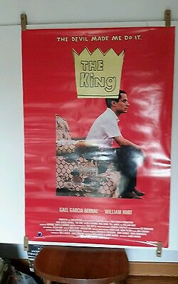 The King 27 x 40 original double sided movie poster