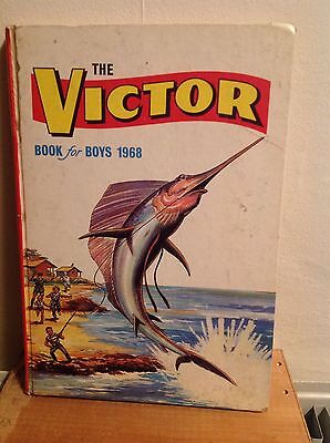 The Victor Book For Boys 1968 (unclipped)