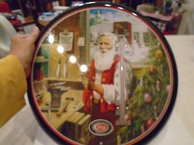 Case Christmas Santa Thermometer New In Box Round Licensed