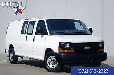 2016 Chevrolet Express Express Warranty Clean Carfax One Owner 2016 White Express Warranty Clean Carfax One Owner!