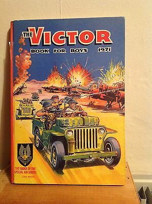The Victor Book For Boys 1971 (unclipped)
