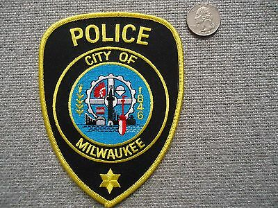 Ciry of Milwaukee Police Department Patch