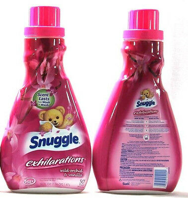 2 Snuggle Exhilarations Concentrated Fabric Softener Wild Orchid And Vanilla