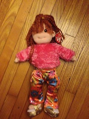 "TY BEANIE BOPPER-SNAZZY SABRINA-2001-13 "" Tall- MINT-WITH TAGS"