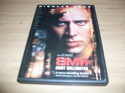 Thriller Movie: 8Mm! Used & In Excellent Condition! Nicolas Cage!!!