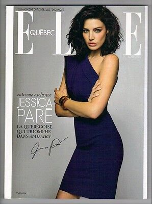 Jessica Pare , Mad Men , Elle Quebec Magazine , March 2013