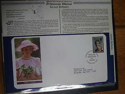 Official International Tributes to Princess Diana --Sierra Leone, Great Britain