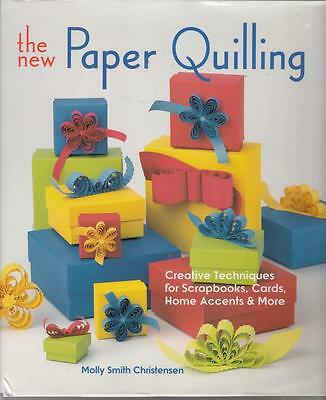 PAPER QUILLING BOOK - Creative techniques for Scrapbooks, Cards, Home Decor- NEW